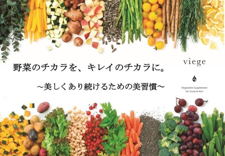 お野菜のサプリメントはじめました☆
